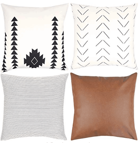 Pillow buying guide for boho style and modern farmhouse pillows