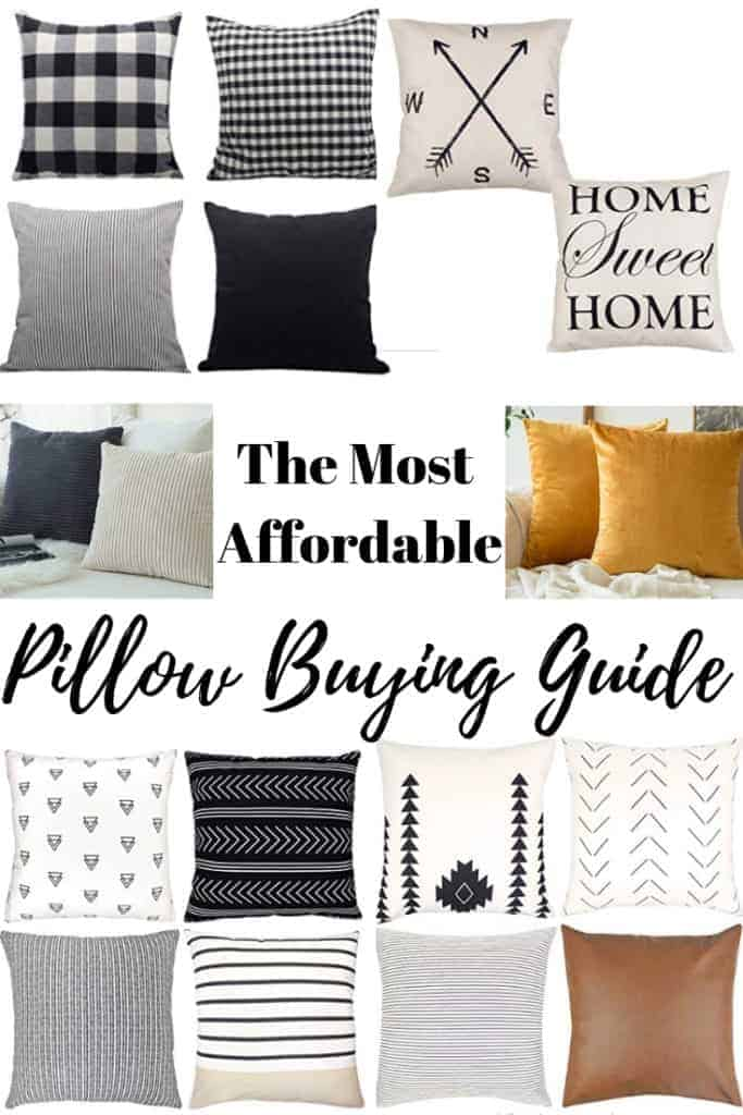 Affordable Pillow Buying Guide for Modern Farmhouse and Boho Pillows