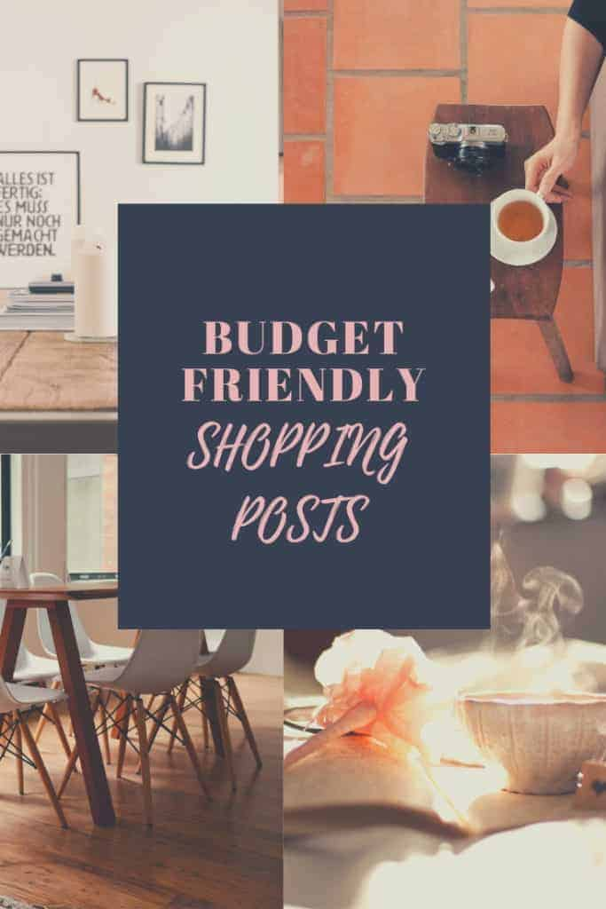 Affordable shopping posts