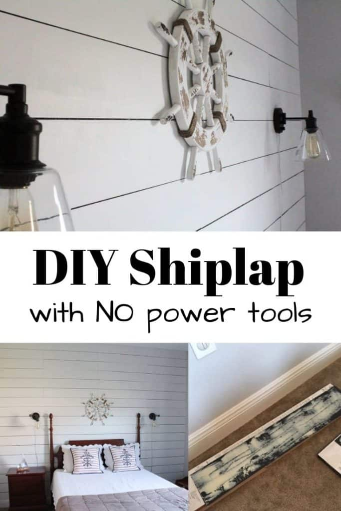 DIY Shiplap