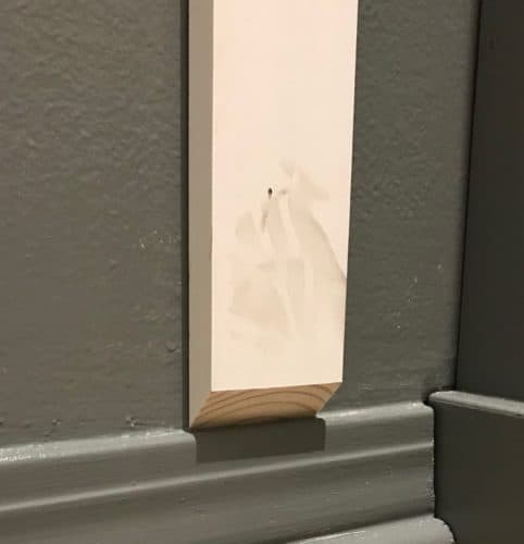 Installing Board and Batten Without Removing the Baseboards