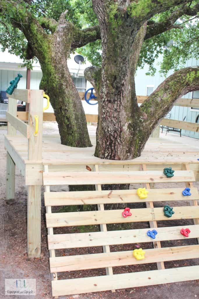 DIY tree house