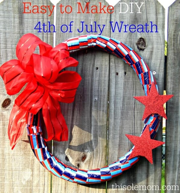 DIY 4th of July Wreath