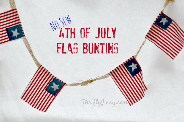 4th of July bunting craft