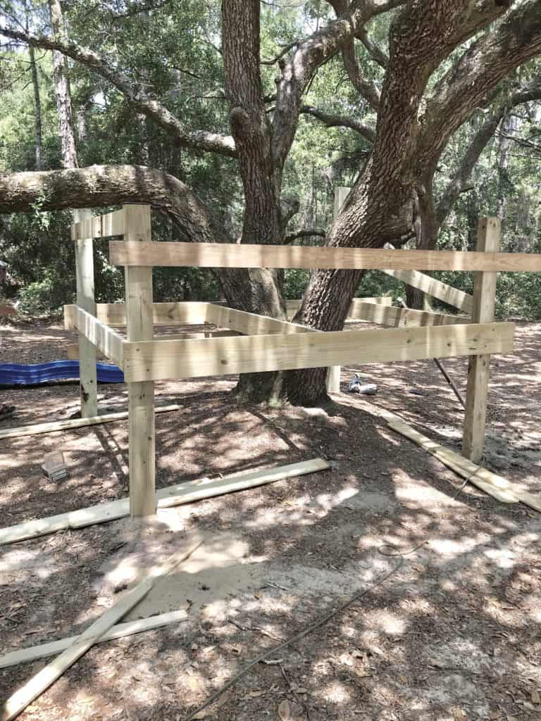 building platform tree house