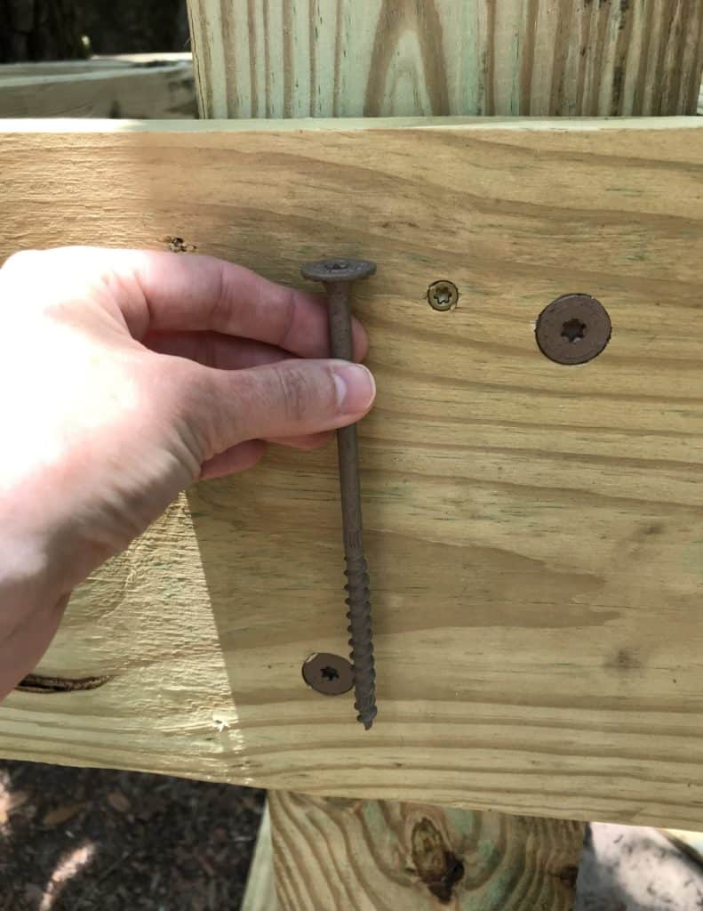 lag bolts for tree house