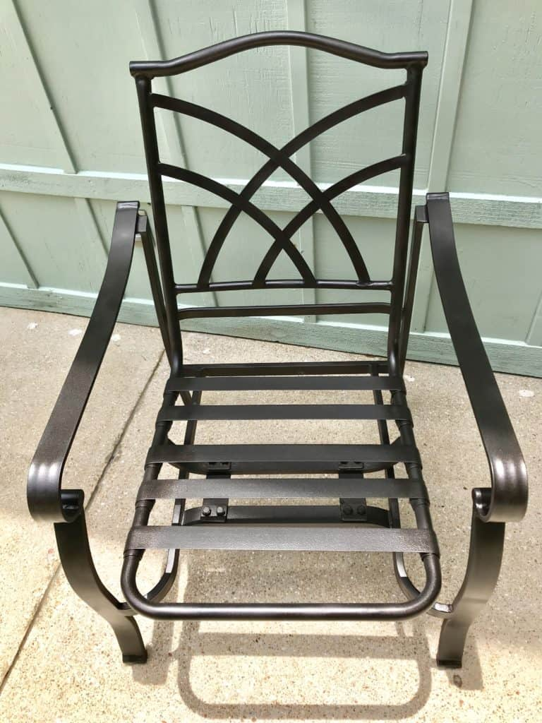 metal chair makeover