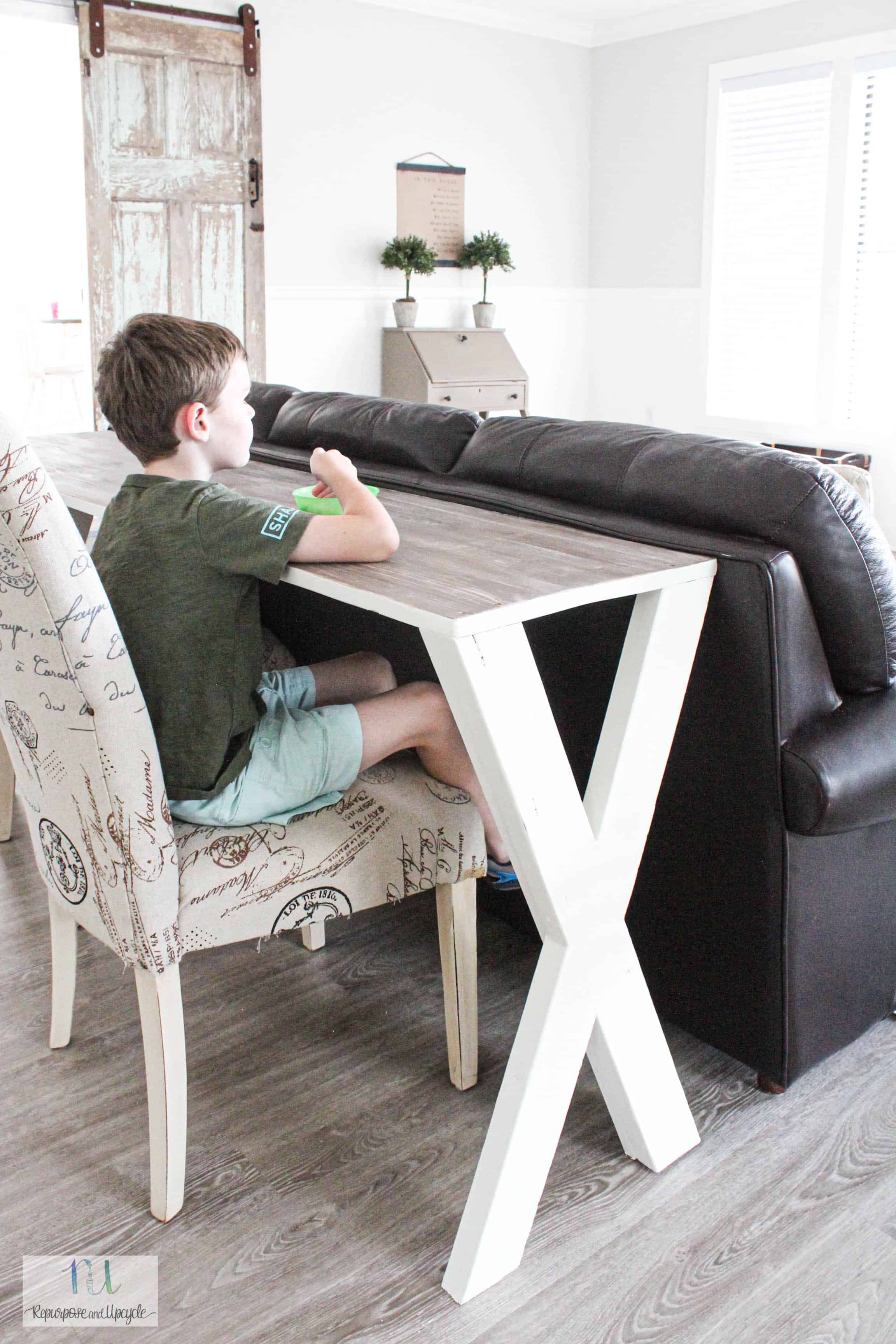 Amazing Diy X Sofa Table From Scrap Wood Pdpeps Interior Chair Design Pdpepsorg