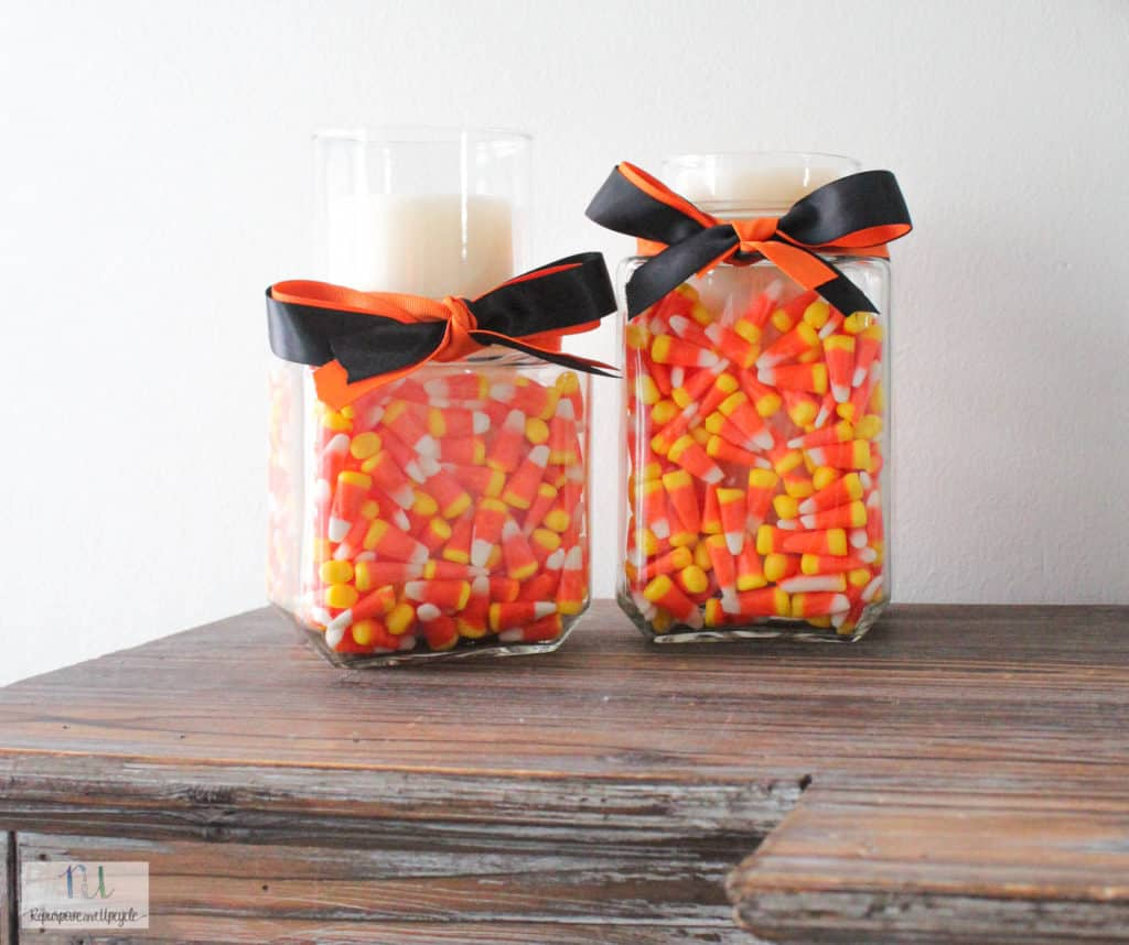 DIY Halloween Candle Holder