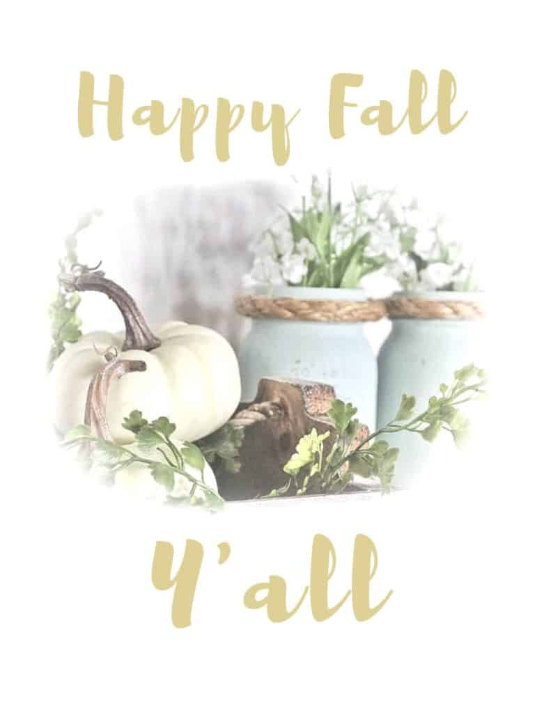 graphic relating to Happy Fall Yall Printable identified as Satisfied Drop Yall Cost-free Slide Printable