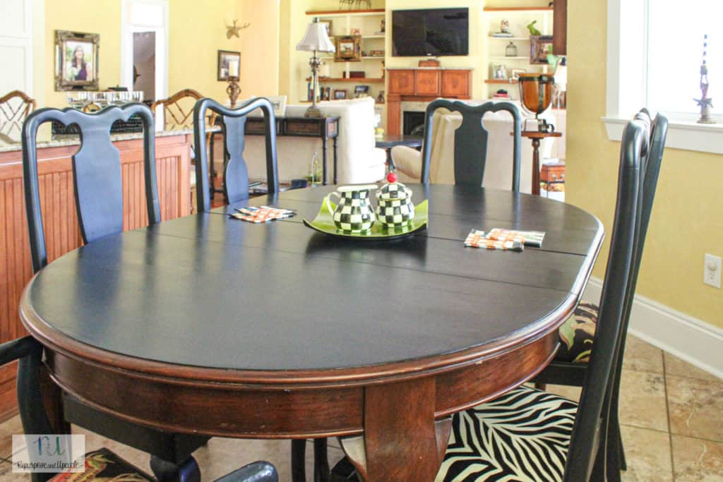 chalk paint table top