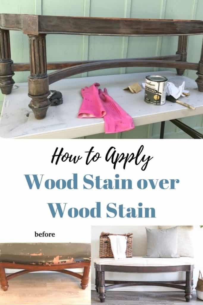 stain over stain
