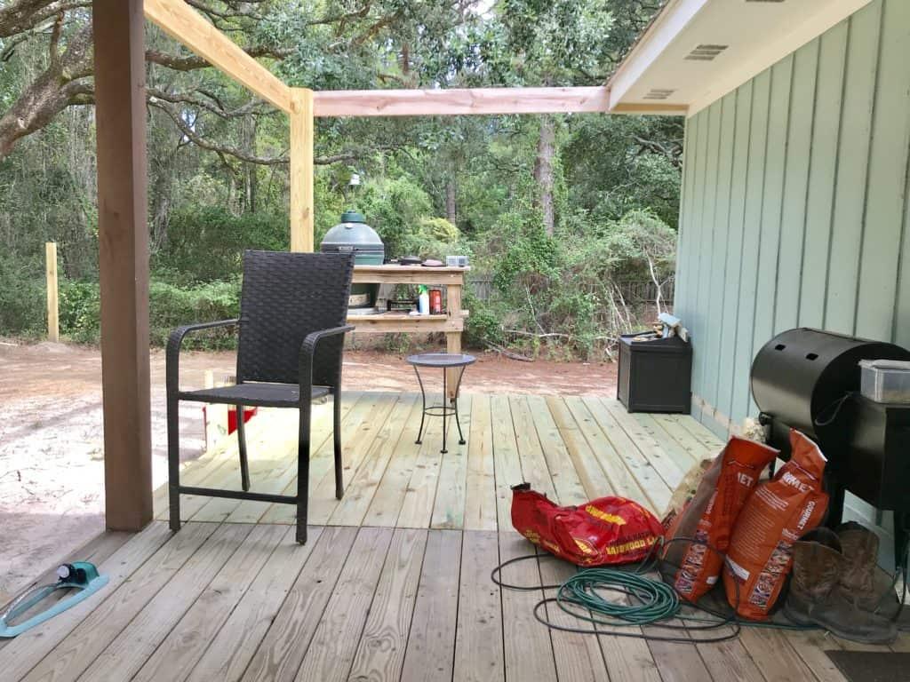 back porch add on