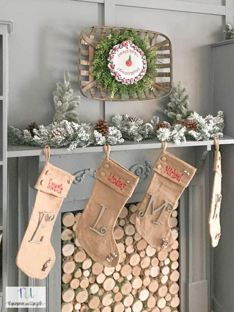 DIY Christmas Countdown Clock