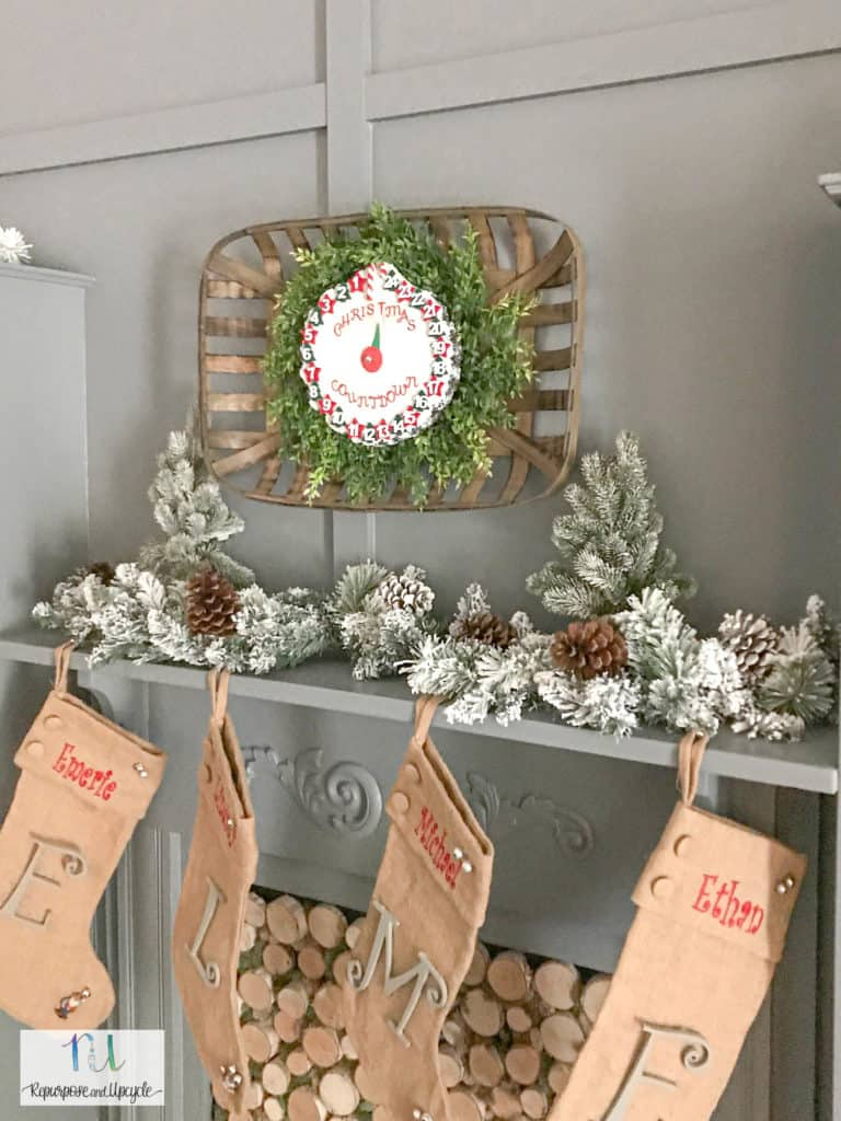 DIY Christmas Countdown Clock