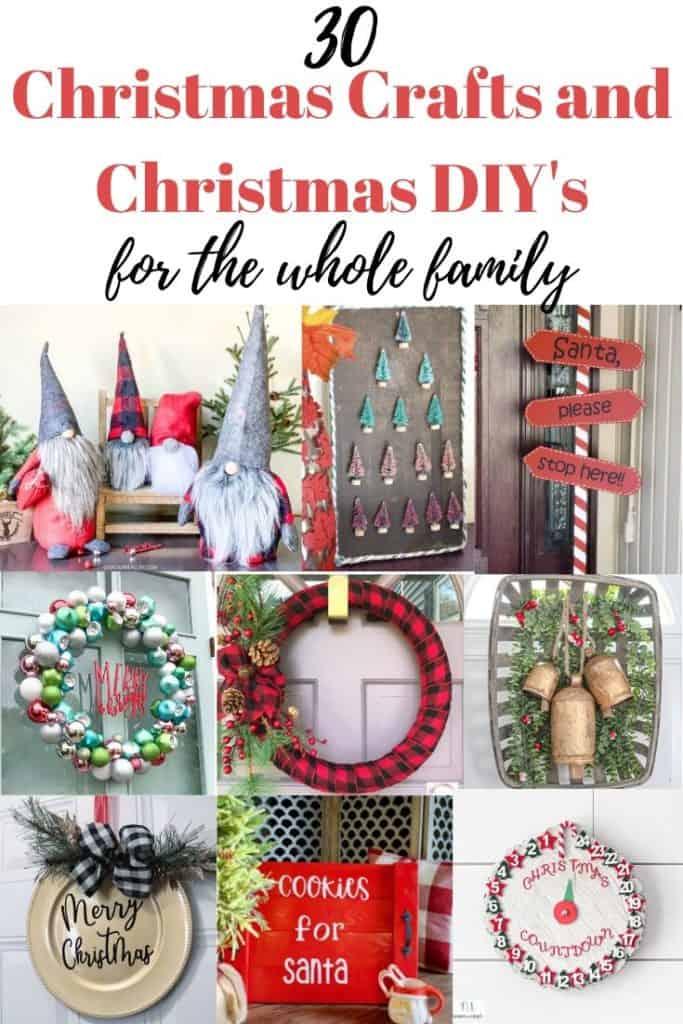 Christmas crafts and Christmas DIY's