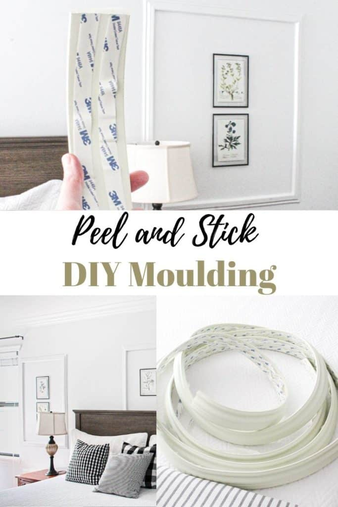 Peel and stick moulding