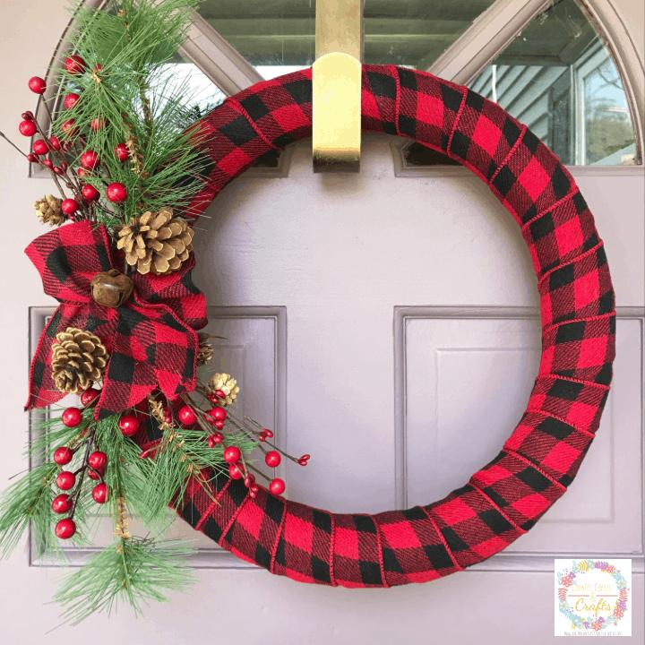 DIY Holiday Door Decor