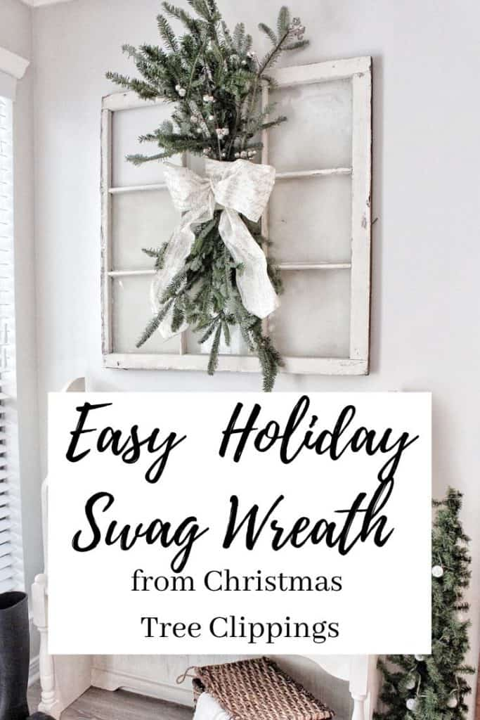 holiday swag wreath