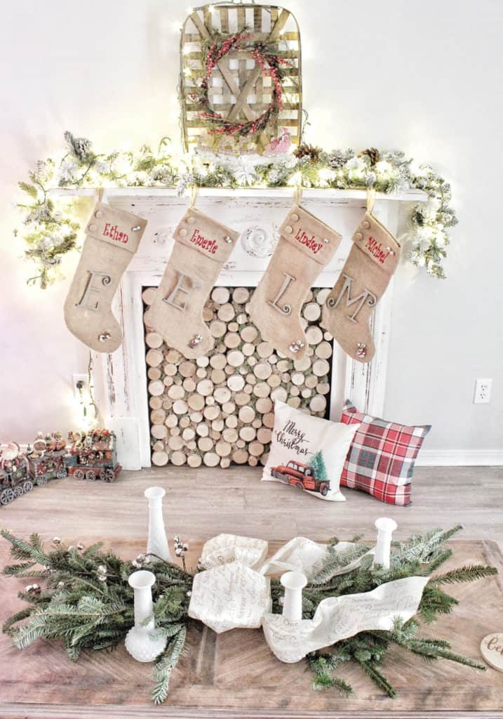 DIY Holiday swag wreath