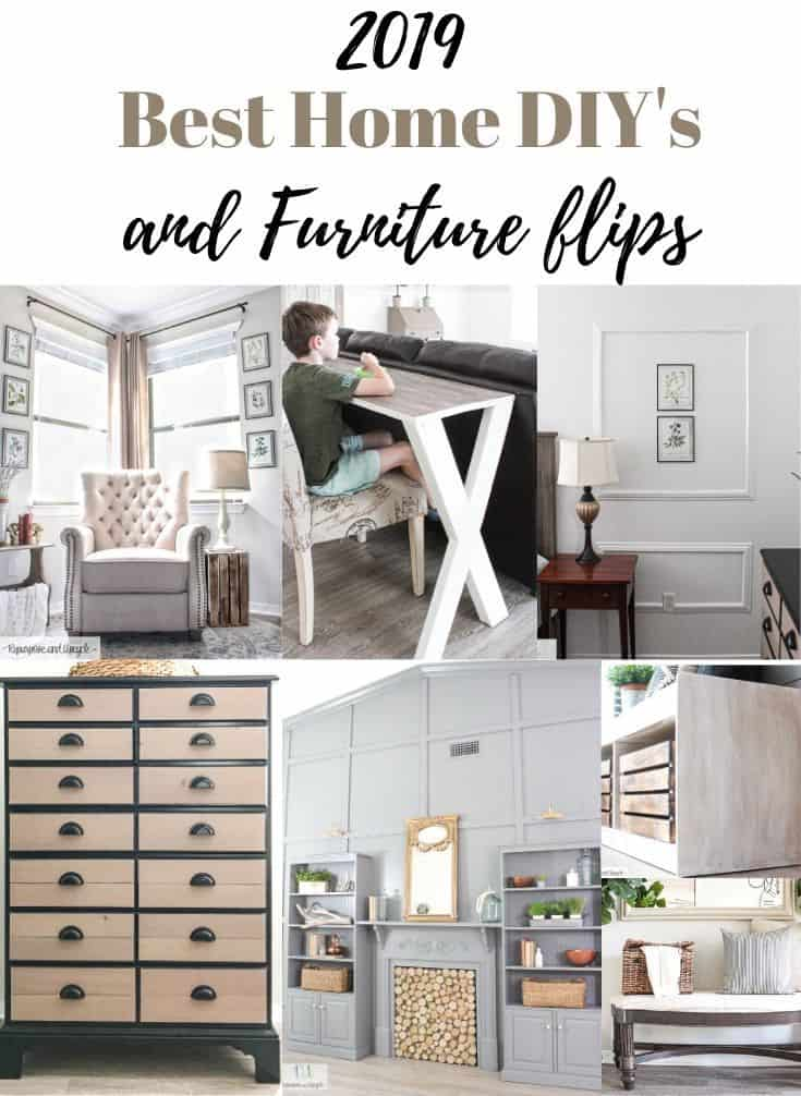 Best home DIY's and furniture flips 2019