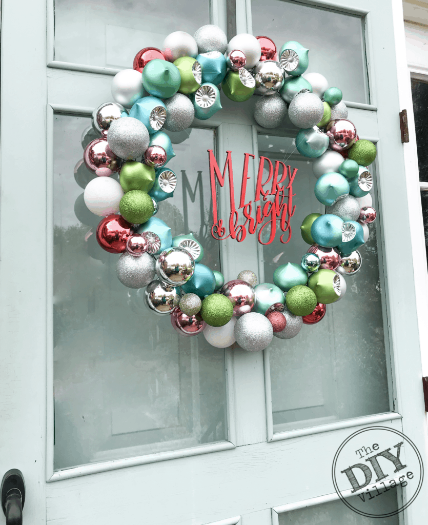 DIY Holiday Door Decor
