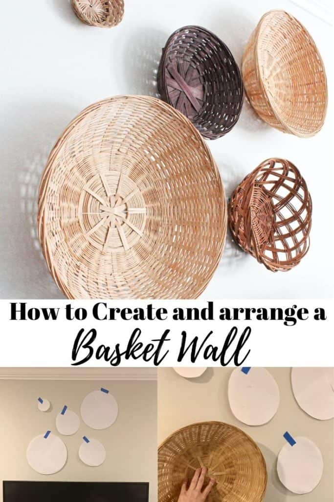 HOW TO CREATE AND ARRANGE A BASKET WALL