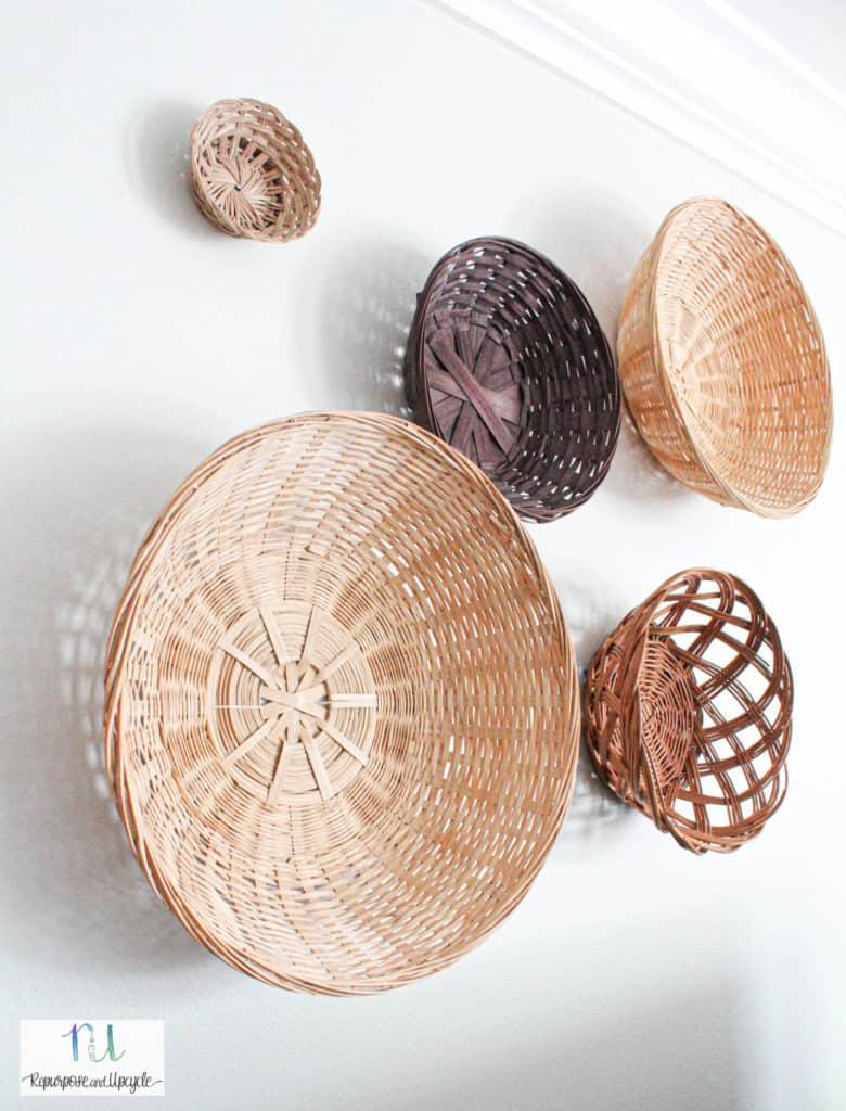 how to create a basket wall