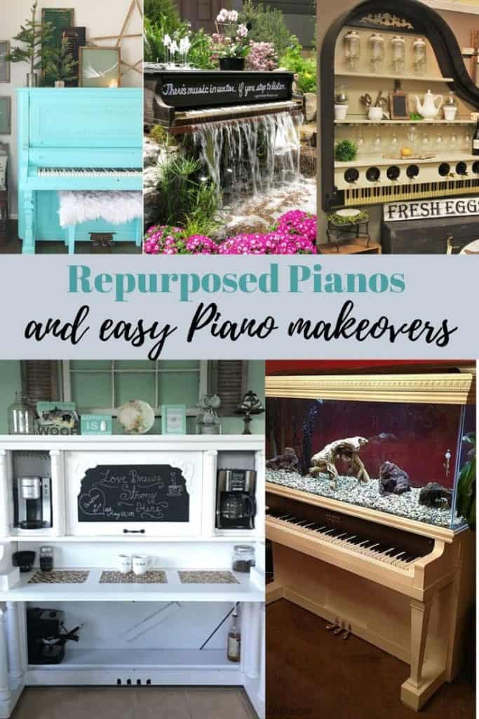 repurposed pianos and easy piano makeovers