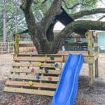 DIY platform tree house