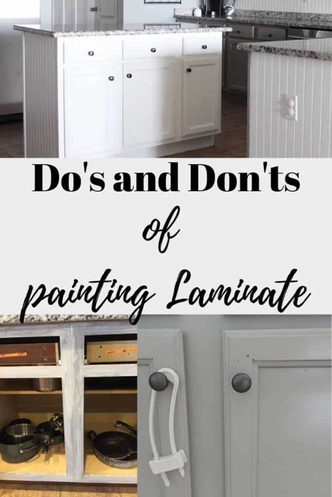 Do's and Don'ts of Painting Laminate Surfaces