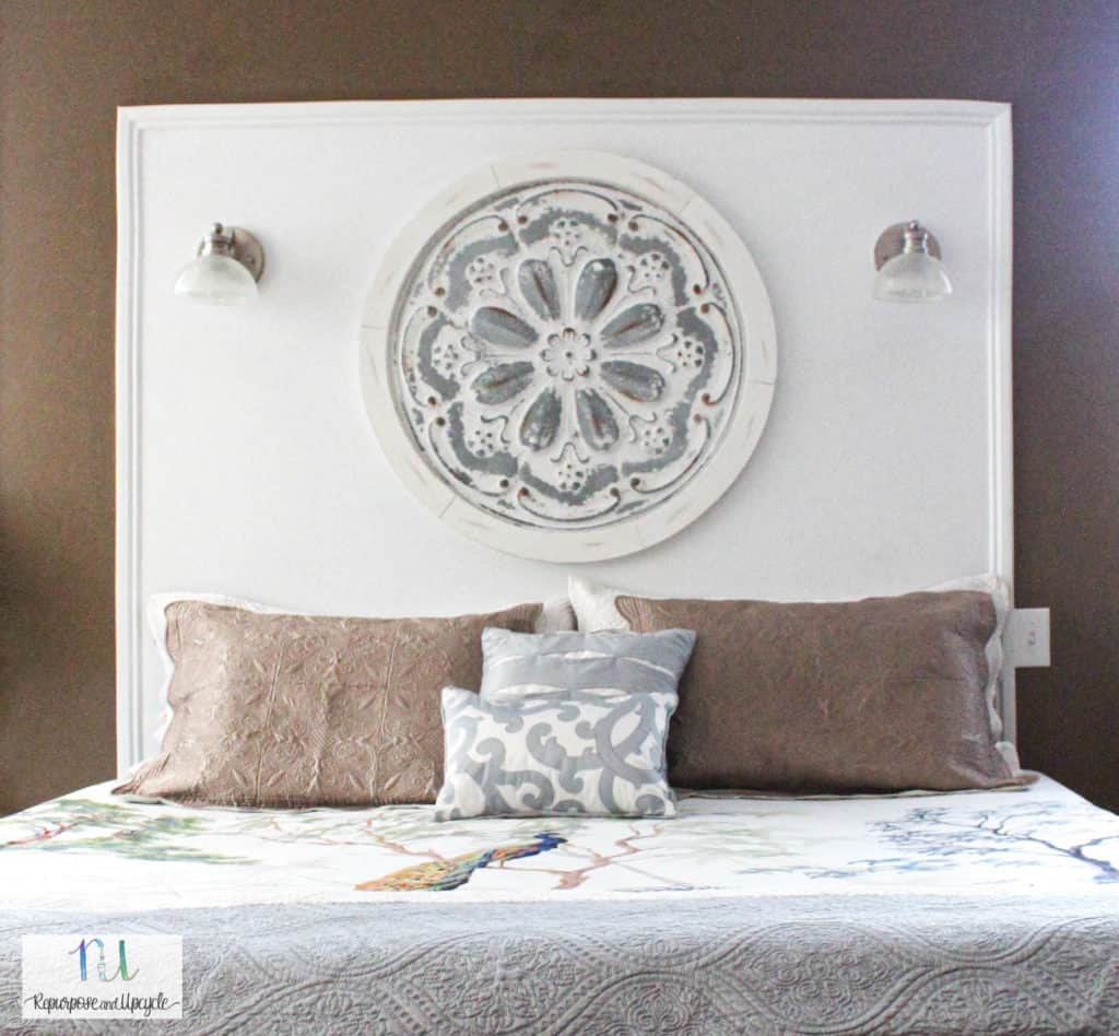 How to Paint a Wall to Look like a Headboard