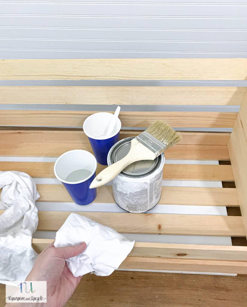 whitewash wood materials