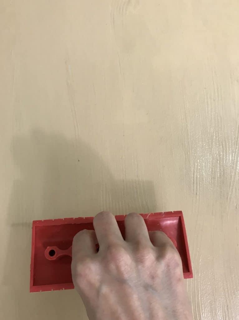 using the Retique It graining tool