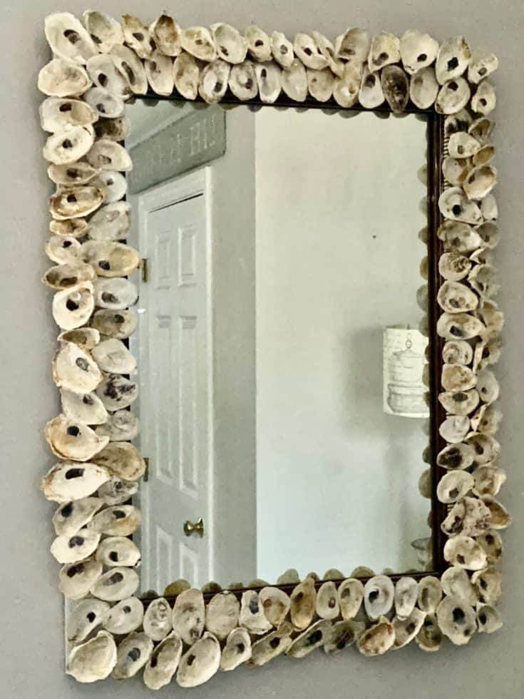 How To Make A Beautiful Oyster Shell Mirror