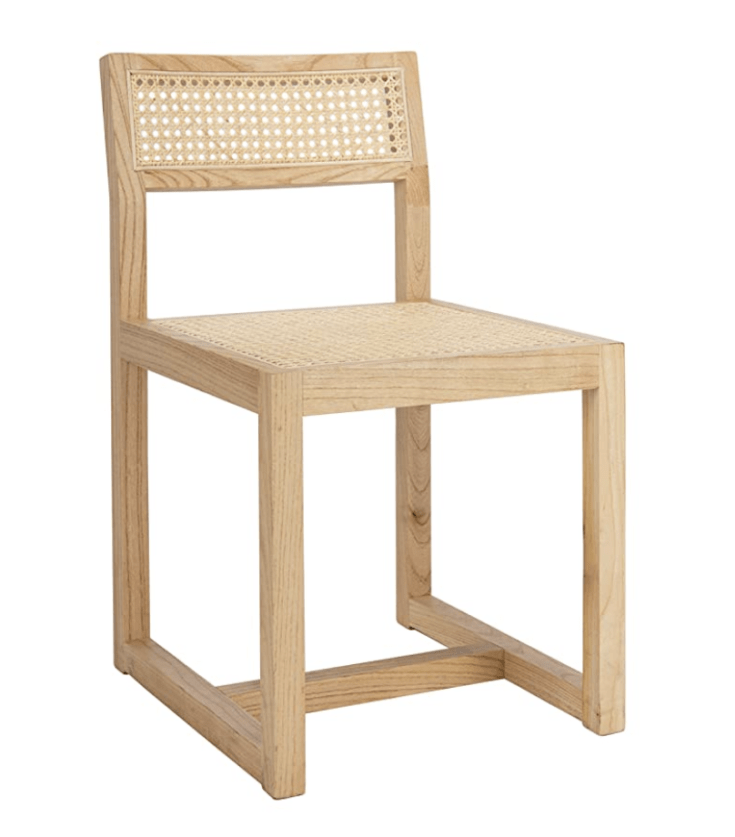 Safavieh Home Bernice Natural Cane Dining Chair