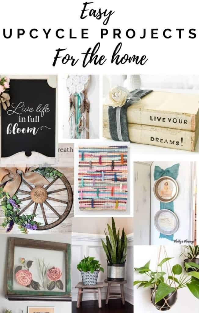 easy upcycle projects for the home