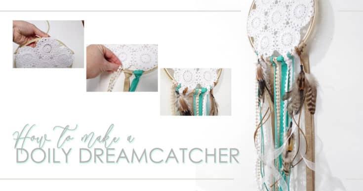 DIY Doily Dreamcatcher