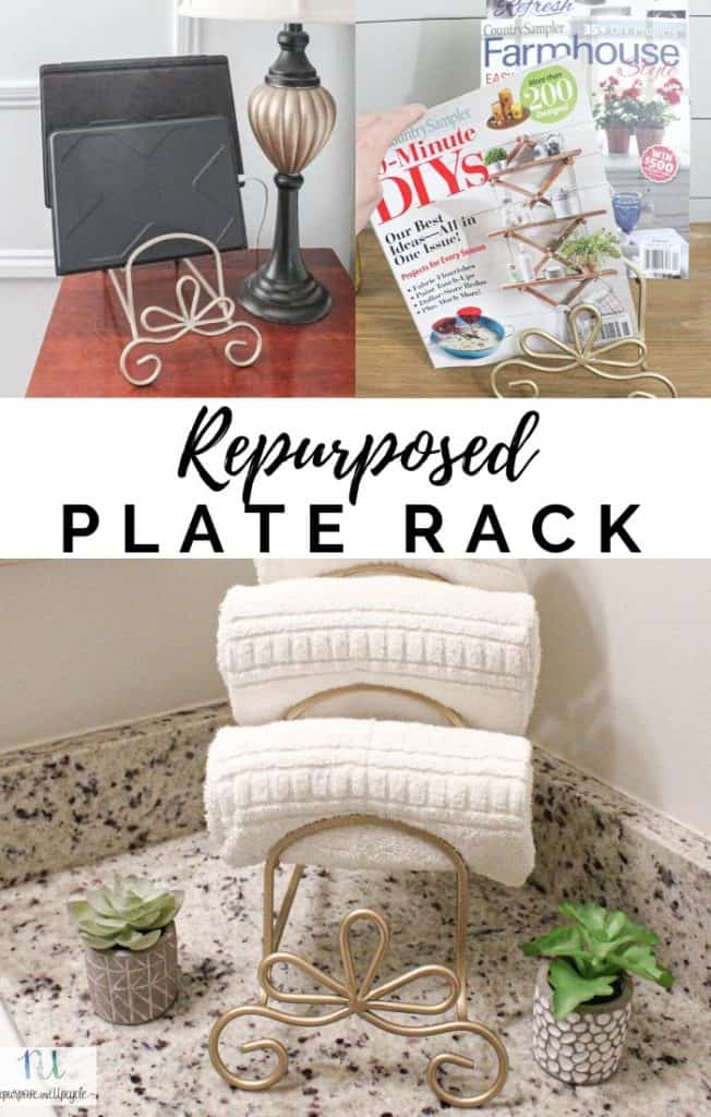 repurposed plate rack three ways