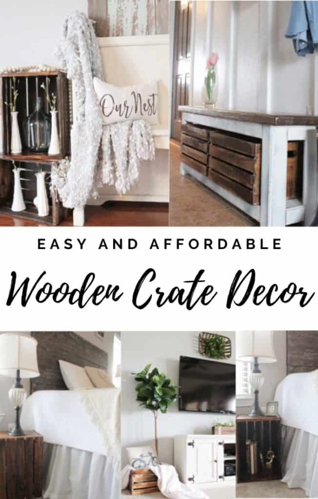wooden crate decor and repurpose a wooden crate
