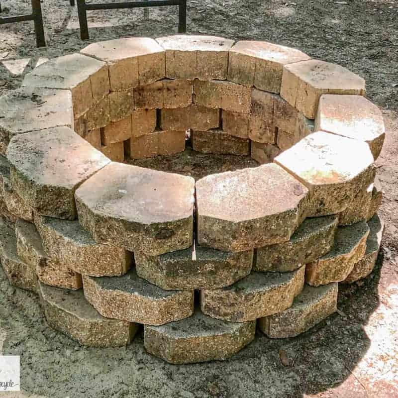 DIY fire pit