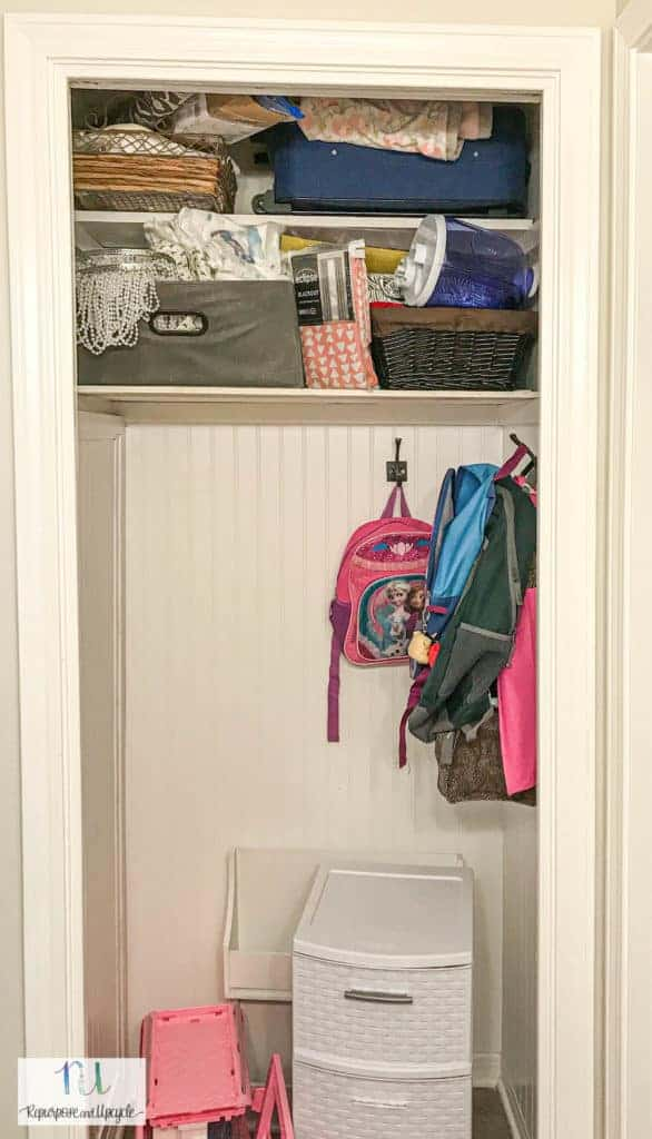 The closet before the reading nook