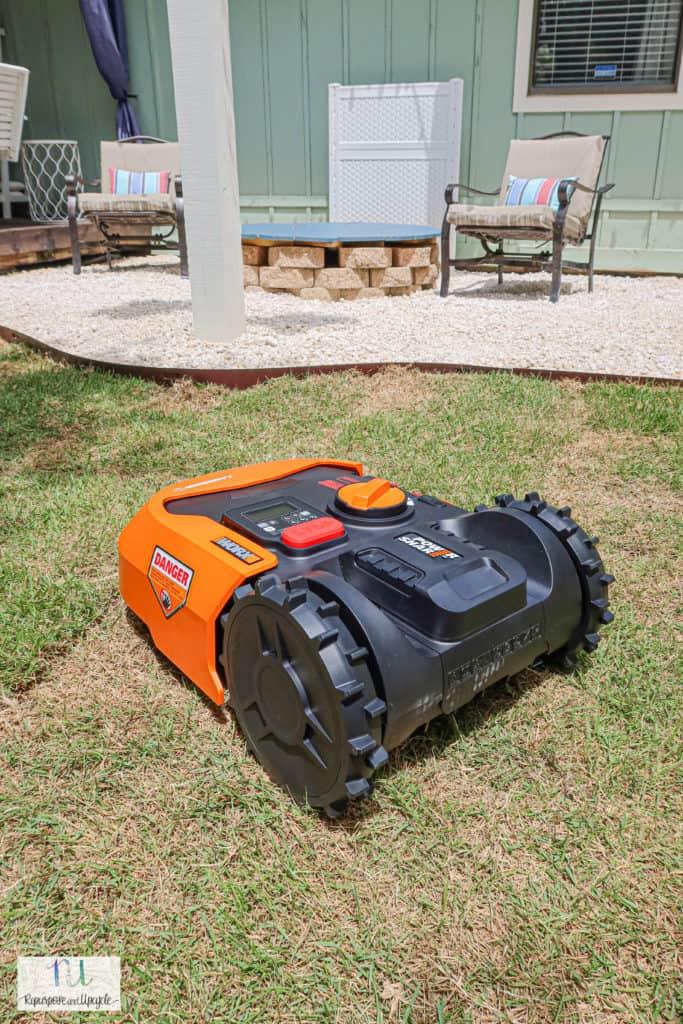 landroid lawn mower