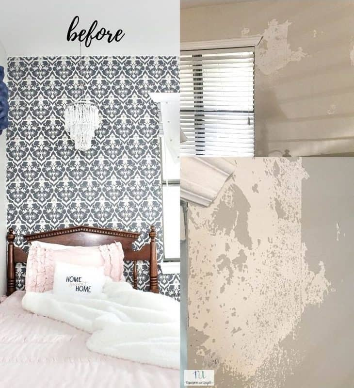 does peel and stick wallpaper damage paint