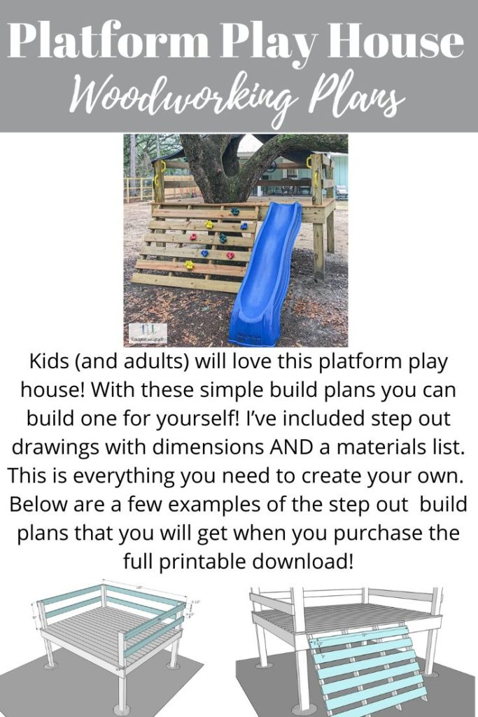 platform tree house build plans
