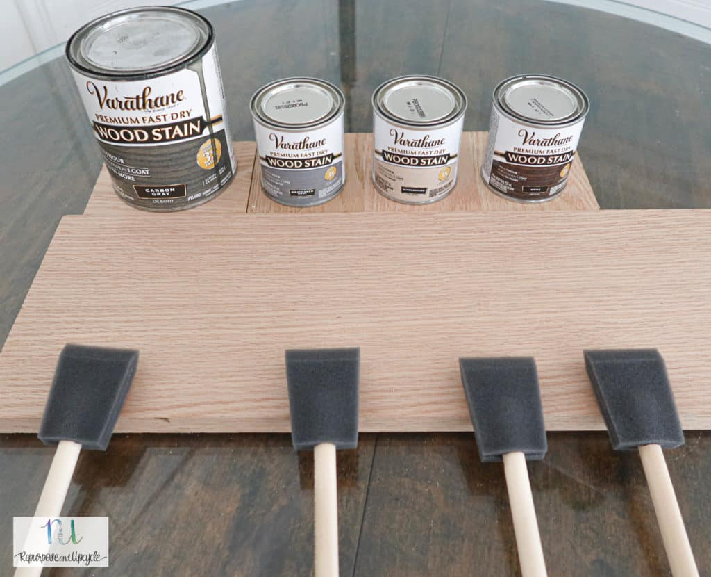 Varathane wood stains