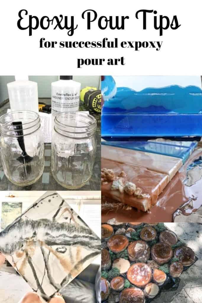 epoxy resin pour tips