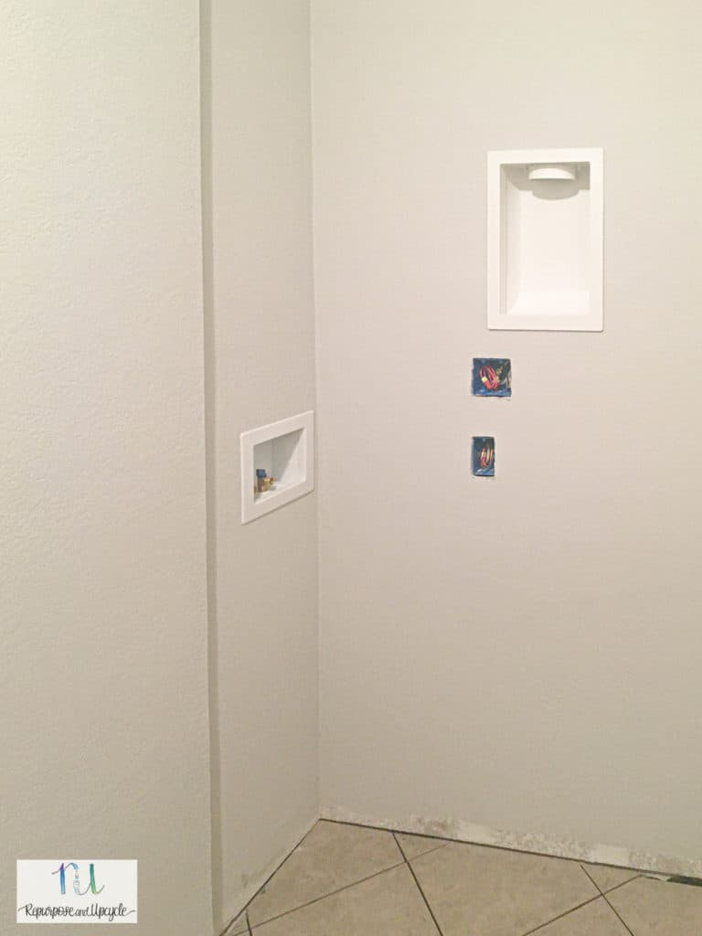 laundry room remodel plumbing and electrical