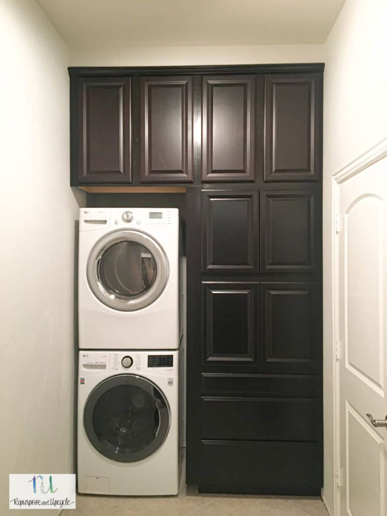 Finished Laundry Room Remodel