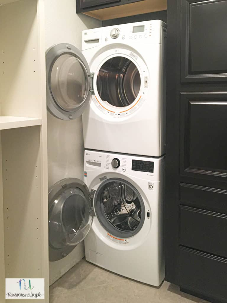 laundry room remodel finished